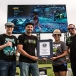NVIDIA провела игровой турнир на рекордно большом экране