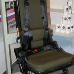 Энергопоглощающее кресло защитит военных при взрывах