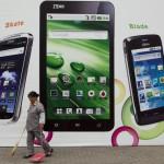 ZTE увеличила поставки смартфонов на 42 %