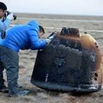 Спускаемый аппарат китайского лунного спутника вернулся на Землю