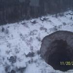 Провал в Соликамске может быть затоплен грунтовыми водами