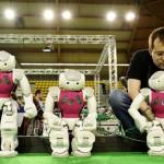 Томские инженеры начали работу над первой российской роботизированной футбольной командой