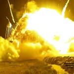 Видео дня: взрыв ракеты-носителя Antares в деталях