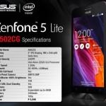Анонсирован смартфон ASUS Zenfone 5 Lite на платформе Intel за $124