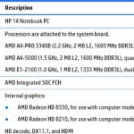 Замечен новый процессор AMD A-PRO 3440B линейки Kabini