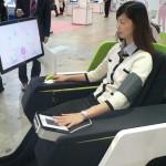 «Умное» кресло Sharp расскажет о ментальном и физическом здоровье сидящего