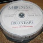 Verbatim займётся выпуском «вечных» дисков