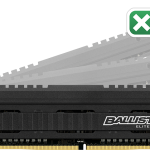 На рынок вышла DDR4-память премиум-класса Crucial Ballistix Elite