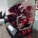 Дикий красный дракон MSI: не летает, но выглядит угрожающе