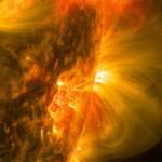 Фото дня: первая в 2015 году значительная солнечная вспышка