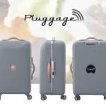Delsey показала рабочий прототип смарт-чемодана Pluggage