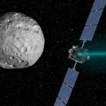 Фото дня: следы водных потоков на астероиде Веста