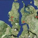 На севере России найдено несколько новых кратеров