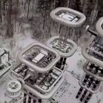 «Башня Теслы» в подмосковном лесу: вид с квадрокоптера