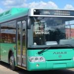 Электробус ЛИАЗ проезжает 200 км после подзарядки