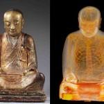 Статуя Будды скрывала мумию монаха внутри
