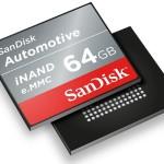 SanDisk Automotive: NAND-память для авто нового поколения