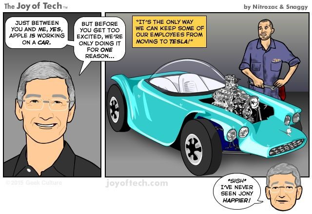 автомобили Apple