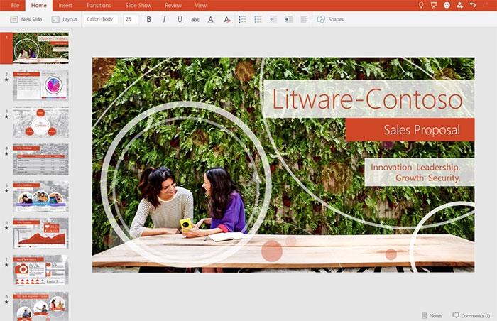 предварительная версия Office8