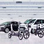 Ford представил в Барселоне «умные» электровелосипеды