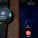 «Умные» часы Moto 360 с Android Wear научились принимать звонки с iPhone