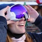 Первые очки дополненной реальности для горнолыжников
