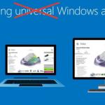 Microsoft отказалась от термина «универсальное приложение»
