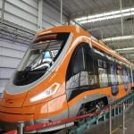 В Китае начал курсировать первый в мире водородный трамвай