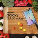 Samsung анонсировала Galaxy Blade Edge – первый в мире «умный» нож