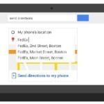 Устанавливать маршруты, отправлять заметки на Android-смартфон можно из строки поисковика Google
