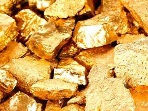 Запасы золота и алмазов
