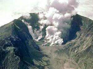 гибели цивилизации от вулканов