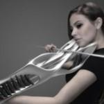 Машины-монстры: Piezoelectric Violin - скрипка, изготовленная при помощи 3D-принтера и выглядящая ка...