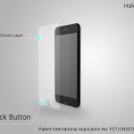Halo Back: защитная плёнка для смартфона с функцией кнопки Назад