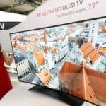 LG представил телевизор толщиной 1 мм