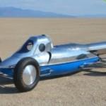 Реактивный автомобиль, в котором использованы технологии времен Второй Мировой войны