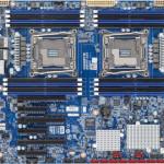 Gigabyte представила плату для пары Xeon с поддержкой CrossFire или SLI