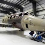 Космический корабль SpaceShipTwo 2.0 компании Virgin Galactic становится на свои ноги