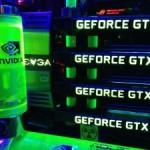 Тройке GeForce GTX Titan X с водоблоками удалось установить пару рекордов