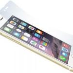Защитная плёнка для iPhone с кнопкой «назад»