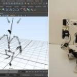Исследователи из Disney Research научили робота копировать походку мультяшных персонажей