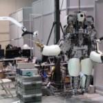 Hydra - самый сложный гуманоидный робот, который не был закончен к началу финала соревнования DARPA ...