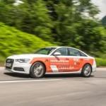 Компания Audi устанавливает рекорд по количеству стран, посещенных автомобилем на одном баке топлива