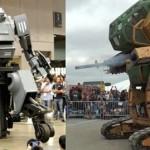 Американский робот MegaBot сойдется с японским роботом Kuratas в первом в истории поединке суперробо...