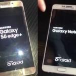 Живые фото Android-смартфонов Samsung Galaxy Note 5 и Galaxy S6 Edge Plus