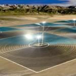 В Китае начато строительство огромной солнечной тепловой электростанции, площадью 6300 актров