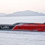 Электрический гоночный автомобиль Venturi VBB-3 устанавливает новый мировой рекорд скорости