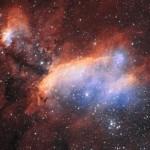 Туманность Креветки - космический центр утилизации и рециркуляции