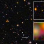 Астрономы обнаружили самую далекую и самую древнюю галактику из всех известных
