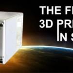 Создан первый трехмерный принтер, способный работать в вакууме открытого космоса